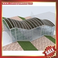 outdoor corridor passage walkway alu aluminum polycarbonate canopy shelter awning cover canopies