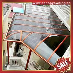 廣東佛山高級定製仿木紋鋁合金鋁制露台陽台遮陽雨篷蓬棚廠家