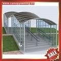 专业定制行人过道走廊门廊门窗楼梯铝合金铝制遮阳雨棚蓬篷 3