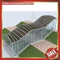 outdoor stair walk way passage polycarbonate canopy awning shelter