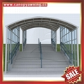 Prefabricated Stairway Staircase Polycarbonate Aluminum