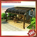 customized gazebo patio balcony pc aluminum canopy awning shelter 3