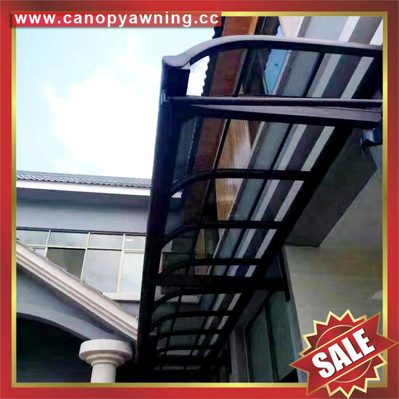 customized gazebo patio balcony pc aluminum canopy awning shelter 4