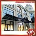 中式別墅門廊露臺鋁合金鋁制鋼化玻璃遮陽雨篷蓬棚 4