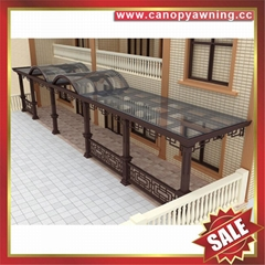 luxury aluminum alloy porch balcony gazebo patio canopy for hotel building villa