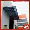 门窗LR型铝合金铝制PC耐力板防晒抗UV遮挡雨阳棚蓬篷 5