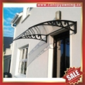 DIY door window rain sun polycarbonate pc awning canopy cover sunvisor shelter 3