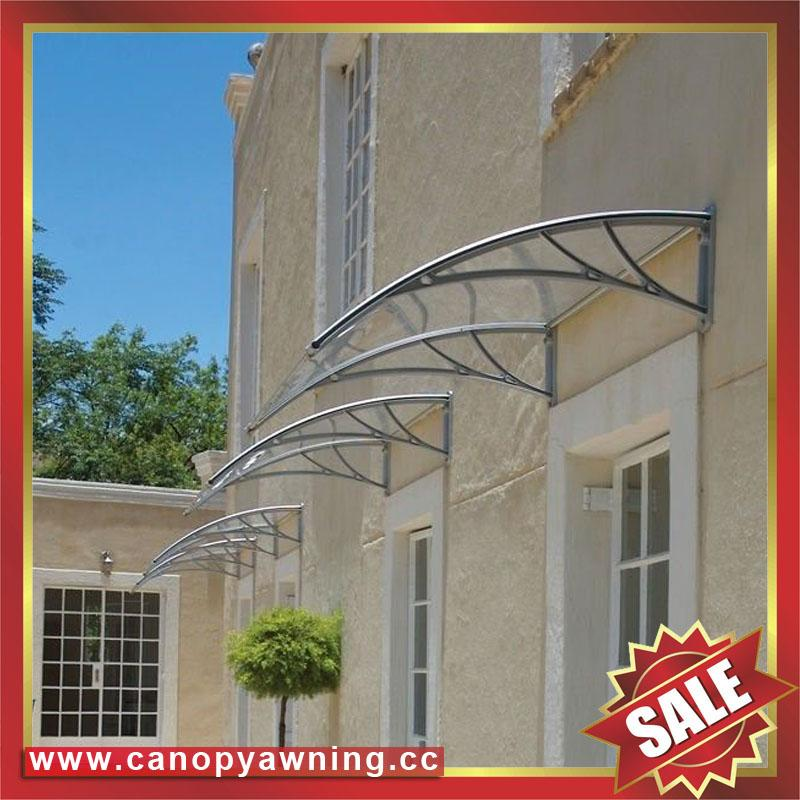 window door canopy awning awnings canopies polycarbonate