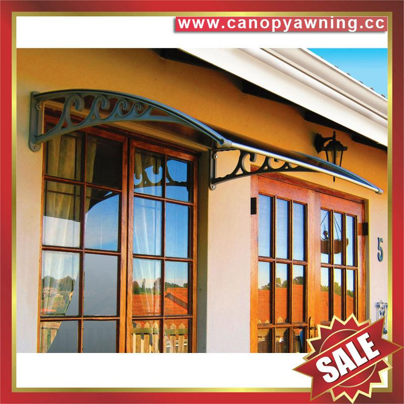 polycarbonate awning canopy canopies cover for door window diy