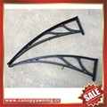 polycarbonate diy canopy awning bracket