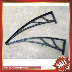polycarbonate diy canopy awning bracket support arm for house window door
