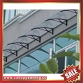 aluminum polycarbonate diy canopy awning sunshade cover for house window door
