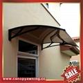 door window aluminum alu polycarbonate diy awning canopy canopies