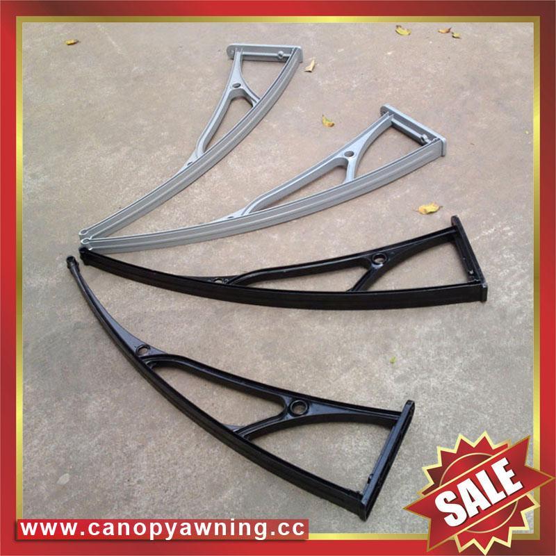 aluminum polycarbonate diy awning canopy canopies bracket arm