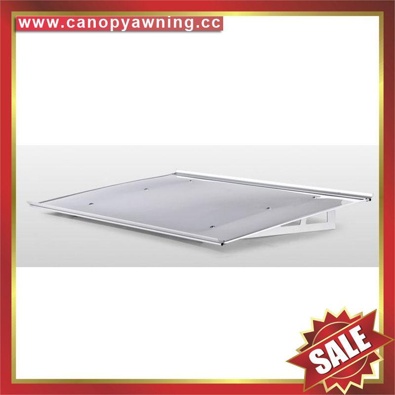 alu aluminum polycarbonate pc diy window door awning canopy canopies for sale