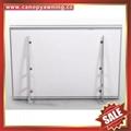 polycarbonate DIY door window pc awning canopy with aluminium alloy bracket 3