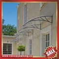 sunny DIY house villa door window pc polycarbonate awning canopy shelter cover 1