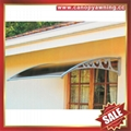 sunny DIY house villa door window pc polycarbonate awning canopy shelter cover 5