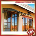 outdoor building polycarbonate DIY door window pc awning canopy shelter canopies