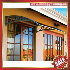 outdoor building polycarbonate DIY door window pc awning canopy shelter canopies 1 ... & outdoor building polycarbonate DIY door window pc awning canopy ...