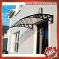 polycarbonate pc sunshade DIY door