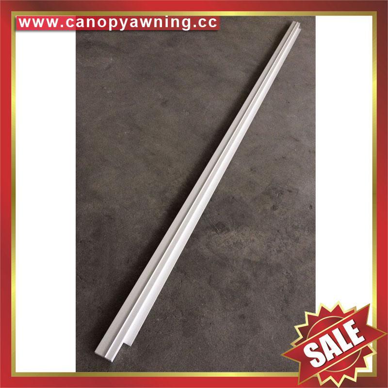 alu aluminium profile connector bar for diy awning canopy