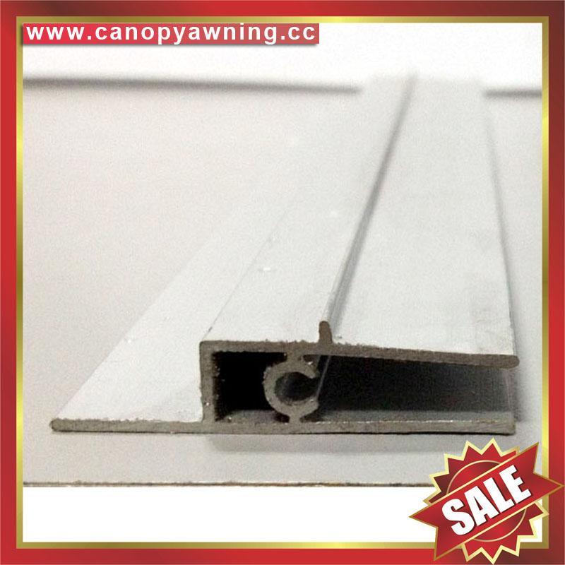 back aluminium profile connector bar for diy awning canopy