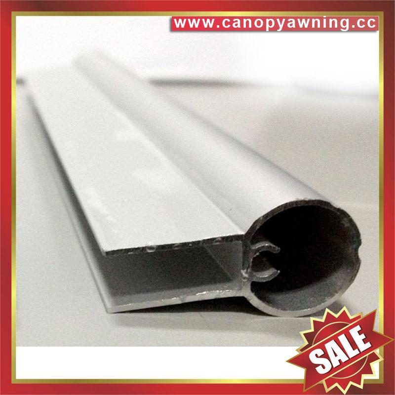 aluminum alu profile connector bar for diy awnings canopies