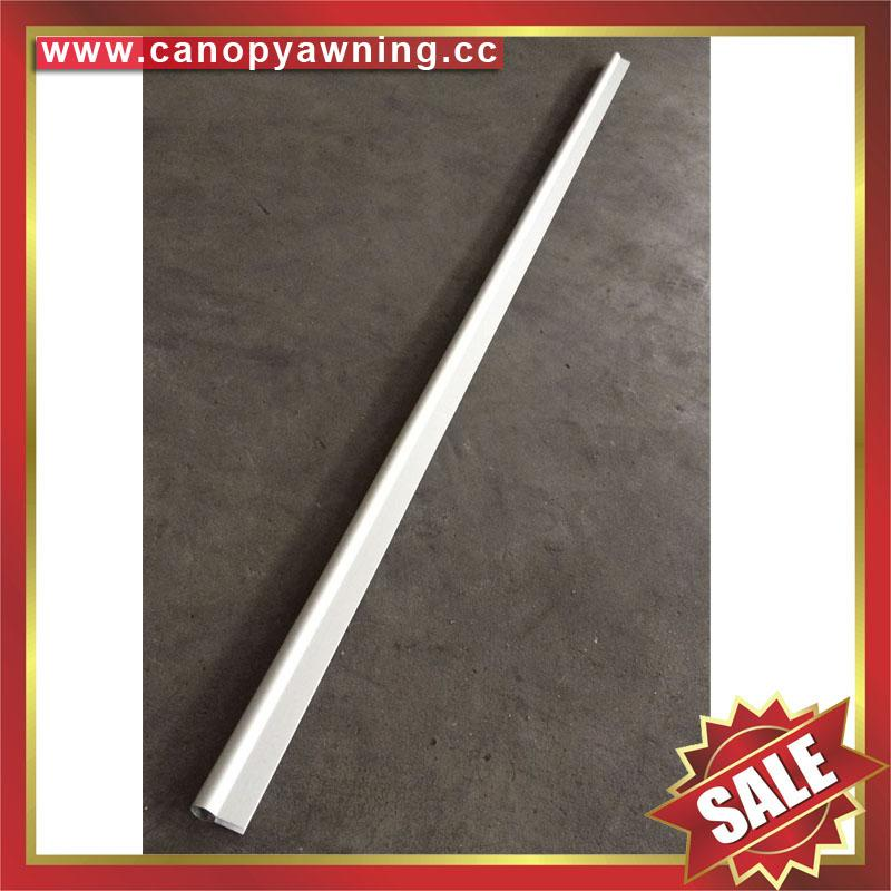 frontal aluminum profile connector bar for diy awning canopy