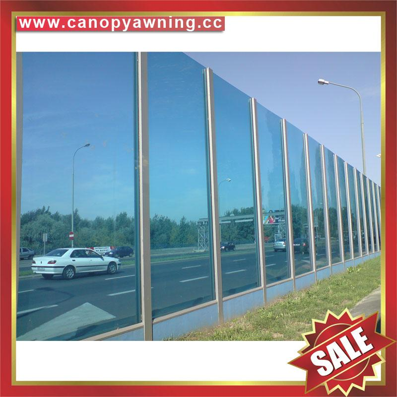 PC polycarbonate board sheet sound barrier for highway freeway avenue boulevard  1