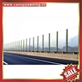 PC polycarbonate board sheet sound barrier for highway freeway avenue boulevard
