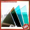 PC polycarbonate board sheet sound barrier for highway freeway avenue boulevard  5