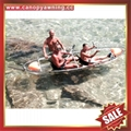 ocean river touring clear transparent invisble crystal kayak canoe boat