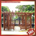 prefabricated sunshade aluminium garden