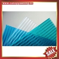 two multi wall hollow polycarbonate pc sun roof sheet sheeting board plate panel 2