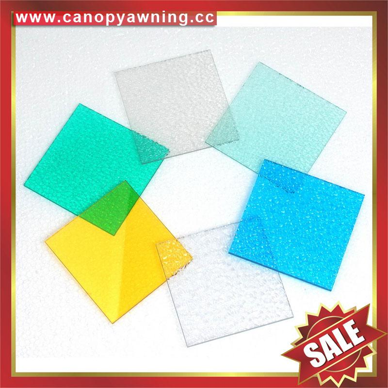 roofing solid polycarbonate PC sheet board for greenhouse building sound barrier 2