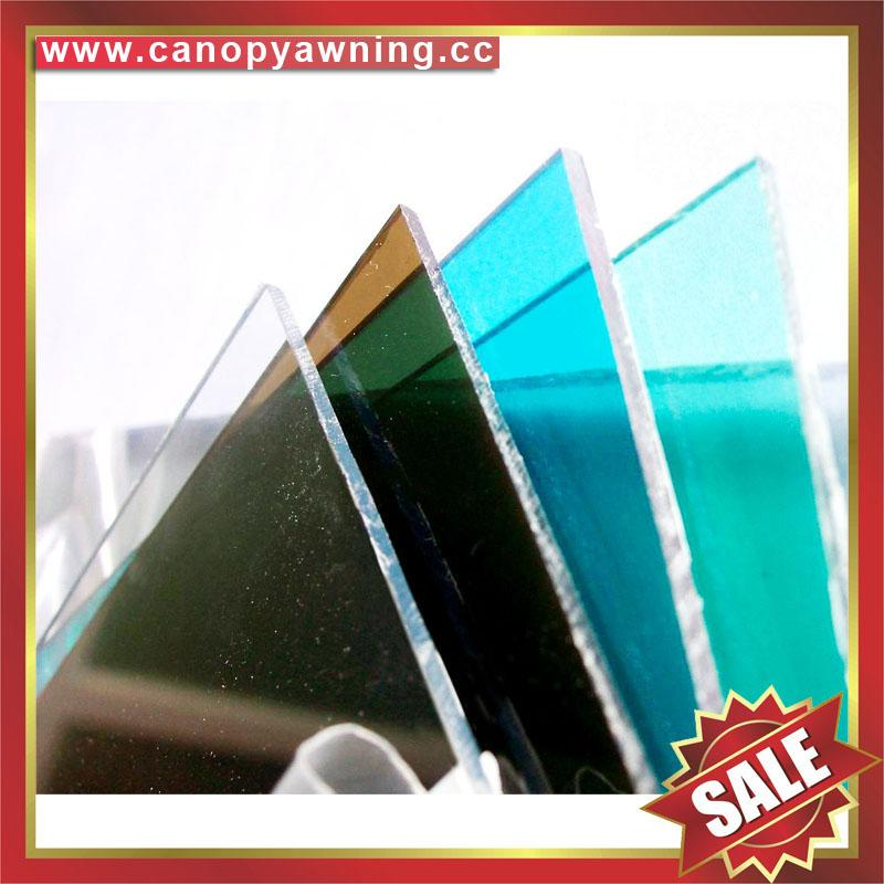 roofing solid polycarbonate PC sheet board for greenhouse building sound barrier 3