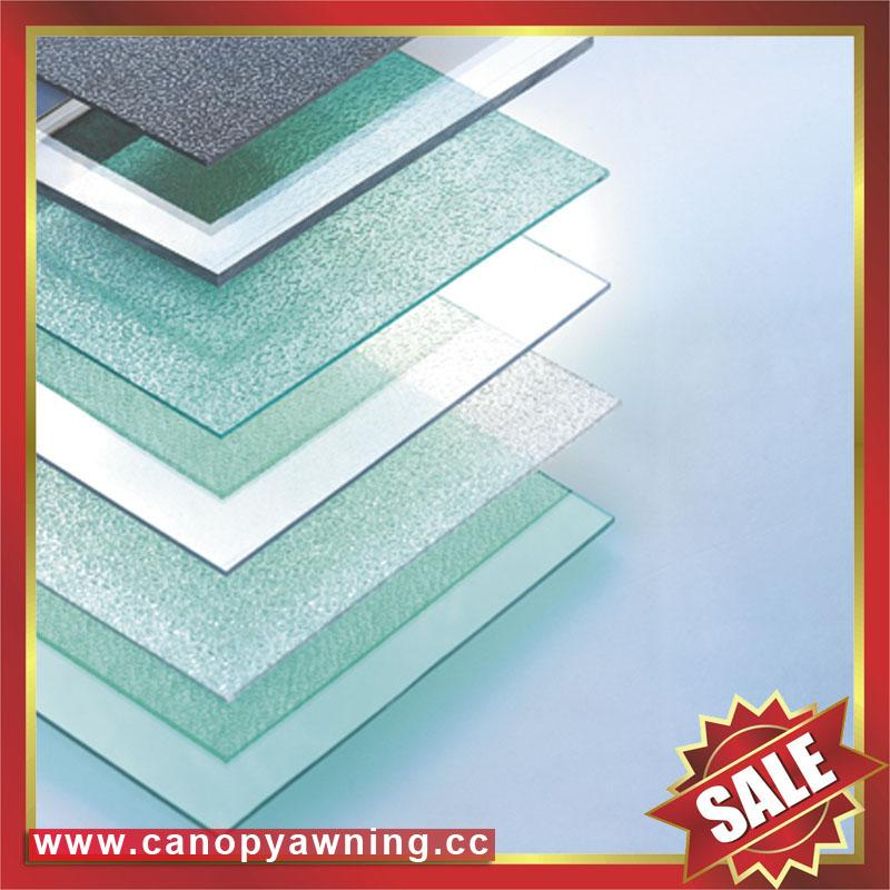 roofing solid polycarbonate PC sheet board for greenhouse building sound barrier 5