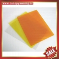 hollow twin wall polycarbonate sheet pc sheeting roof panel board