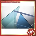 anti uv new raw pc roofing solid polycarbonate sheet sheeting panel board plate