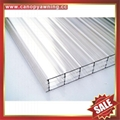 honeycomb roofing sun polycarbonate sheet board sheeting for greenhouse building