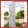 honeycomb hollow pc polycarbonate roofing sheet sheeting plate panel board