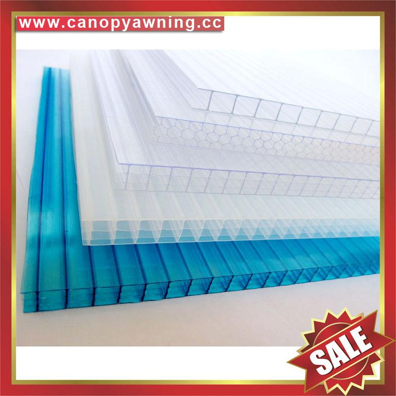 honeycomb hollow pc polycarbonate roofing sheet sheeting plate panel