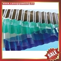 polycarbonate corrugated roofing sheet for greenhouse building factory warehouse