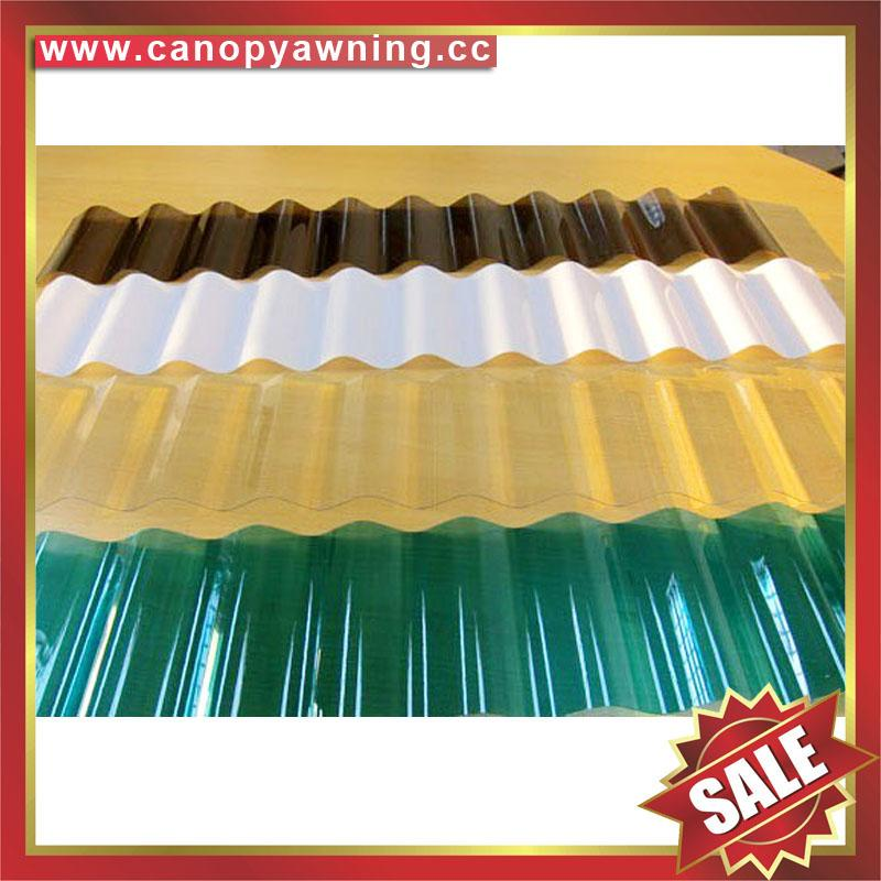 polycarbonate corrugated roofing sheet for greenhouse building factory warehouse 5