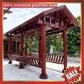 beautiful garden aluminum metal pavilion