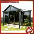 prefab aluminum glass enclosure sun room