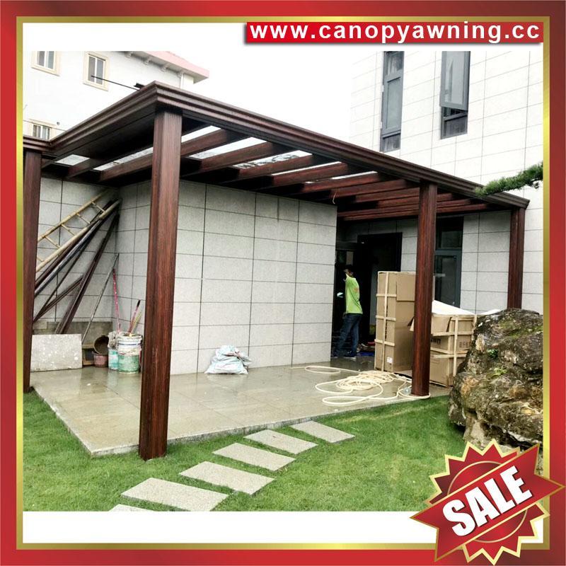 鋁制玻璃遮陽篷