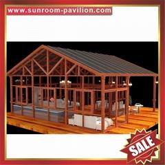 工厂直销优质耐用铝合金铝制玻璃采光防风挡雨阳光房温室屋