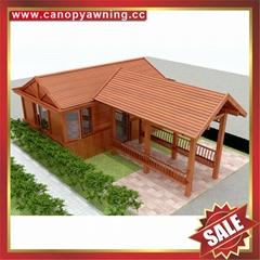 高级定制仿实木纹铝合金铝制玻璃阳光房温室屋采光房
